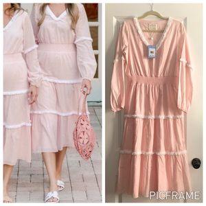 Sail to Sable Pink Maxi Dress